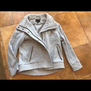 Banana Republic Light grey wool blend jacket